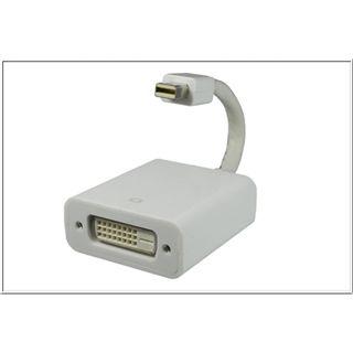 Good Connections Displayport 1.0 Adapter MAC Mini Displayport Stecker auf DVI 24+1 Buchse Weiß