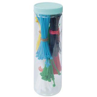 Good Connections Kabelbinderset 2,5mm x100mm verschiedene Farben 700 Stück
