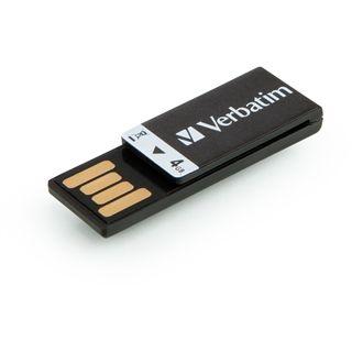 4 GB Verbatim Store `n` Go Clip-it schwarz USB 2.0