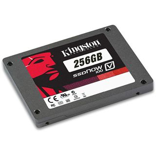 "256GB Kingston V Series 2.5"" (6.4cm) SATA 3Gb/s MLC asynchron (SV100S2/256G)"