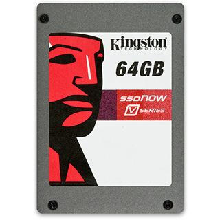 "64GB Kingston V Series 2.5"" (6.4cm) SATA 3Gb/s MLC asynchron (SV100S2/64G)"