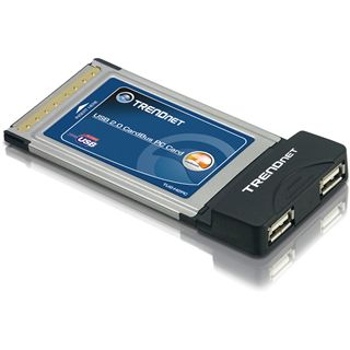 Trendnet 2-Port USB PCMCIA
