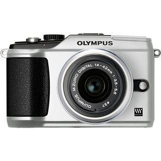 Olympus E-PL2 KIT EZ-M1442 II silber