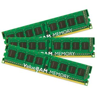 24GB Kingston ValueRAM DDR3-1066 regECC DIMM CL7 Tri Kit