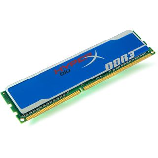 2GB Kingston HyperX blu. DDR3-1600 DIMM CL9 Single