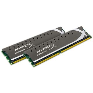 8GB Kingston HyperX Genesis SE Grey DDR3-1600 DIMM CL9 Dual Kit