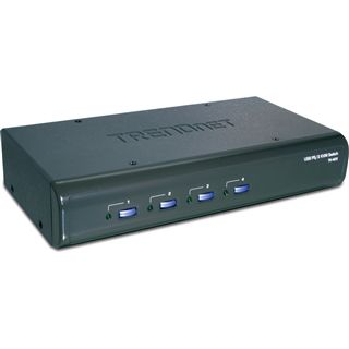 Trendnet TK-423K 4-fach Desktop KVM-Switch