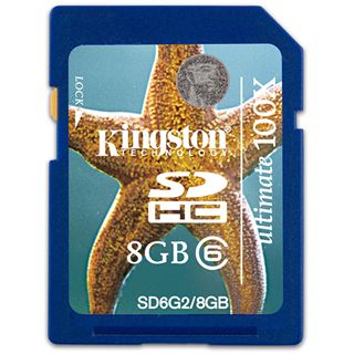 8 GB Kingston Ultimate SDHC Class 6 Bulk