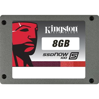 """8GB Kingston S100 Series 2.5"""" (6.4cm) SATA 3Gb/s MLC asynchron (SS100S2/8G)"""