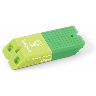 2 GB Kingston DataBar Mini Fun G2 gruen USB 2.0