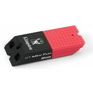 8GB Kingston USB STICK 8GB USB2.0 BLACK/RED