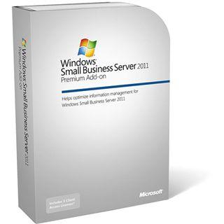 Microsoft Windows Small Business Server 2011 Premium Add-on 64 Bit Englisch non-OSB/DSP/SB 4 User