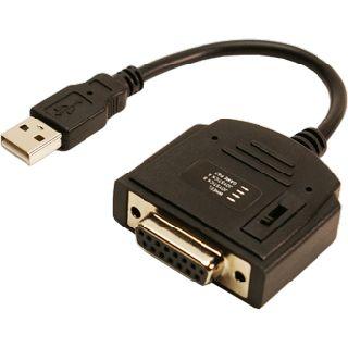 LogiLink Adapter USB 2.0 > Gameport DSUB 15pin St/Bu