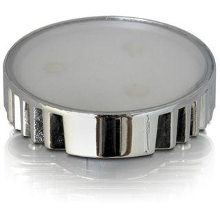DeLock GX53 Lampe, 3 x High Power LED, 3 x 1W, GX53 Bauform, weiß