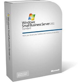 Microsoft Windows Small Business Server 2011 Standard 64 Bit Deutsch Zugriffslizenz 1 User