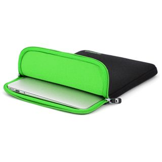 """CoolBananas ShockProof Pouch MB Air (11"""") Schwarz/GreenApple"""