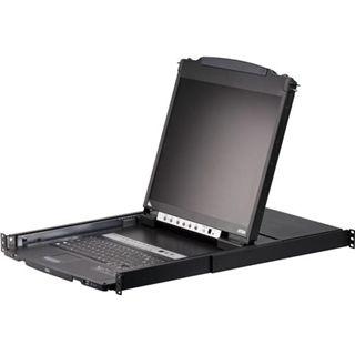 ATEN Technology CL5808 8-fach 19Zoll-VGA-LCD-Konsole