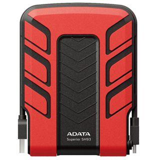 """750GB ADATA Superior SH93 ASH93-750GU-CRD 2.5"""" (6.4cm) USB 2.0 rot"""