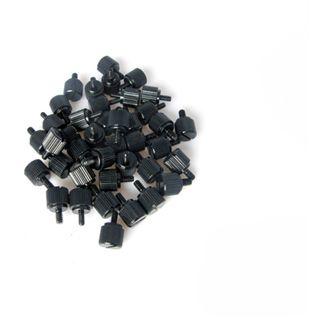 Dimas Tech schwarzer Schraubensatz für M3 und 6-32 (BT082)
