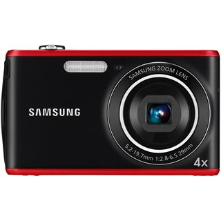Samsung PL90, DigiCAM 12.2 MP schwarz/rot