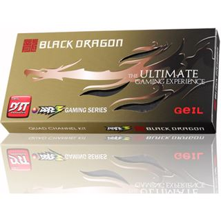 8GB GeIL Black Dragon DDR3-1600 DIMM CL9 Dual Kit
