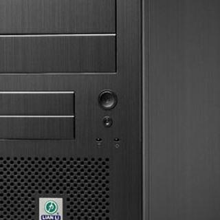 Lian Li schwarze Power-/Reset-Taster für Lian Li PC-7 Plus II (PT-SK08B)