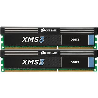 8GB Corsair XMS3 DDR3-1600 DIMM CL9 Dual Kit