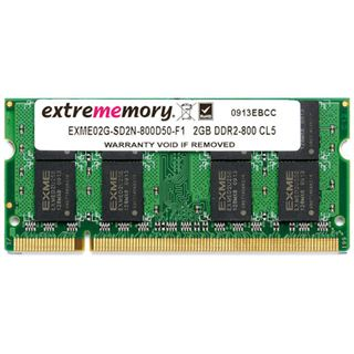 1GB Extrememory EXME01G-SD1N-400D30-E1 DDR-400 SO-DIMM CL3 Single
