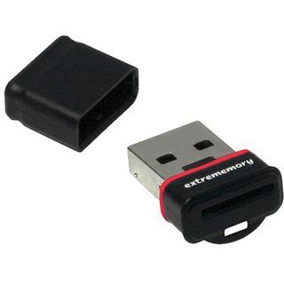 4 GB Extrememory Snippy Plus schwarz USB 2.0