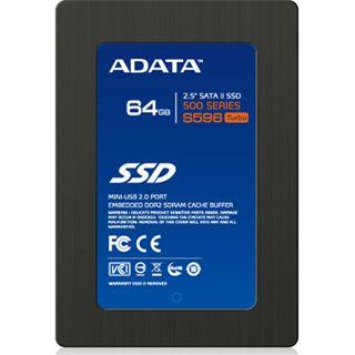 "64GB ADATA S596 2.5"" (6.4cm) SATA 3Gb/s MLC asynchron (AS596TB-64GM-C)"