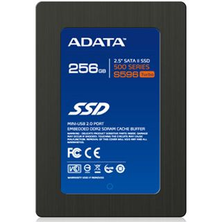"256GB ADATA S596 2.5"" (6.4cm) SATA 3Gb/s MLC asynchron (AS596TB-256GM-C)"