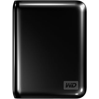 "HD2E 500GB WD My Passport Essential scharz 2,5"" (6,35 cm) USB 2.0"