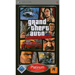 Take 2 GTA: Liberty City Stories - Platinum (PSP)