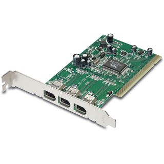 Trendnet 3-Port FIREWIRE Hostadapter PCI