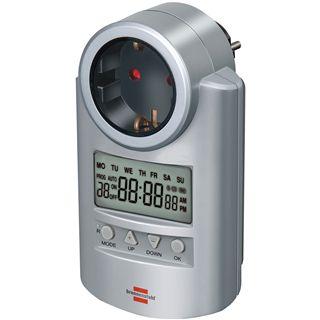 Brennenstuhl Zeitschaltuhr digital auf Silber