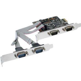 InLine 76623C 4 Port PCIe x1 zweites Slotblech retail