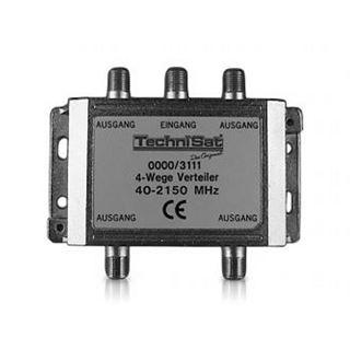TechniSat 4-Wege Verteiler 4x DC Durchlass