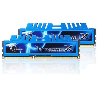 8GB G.Skill RipJawsX DDR3-1600 DIMM CL8 Dual Kit