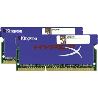 8GB Kingston HyperX DDR3-1600 SO-DIMM CL9 Dual Kit