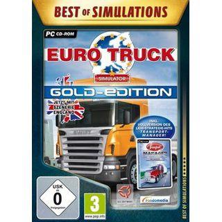 Rondomedia Best of Simulations: Euro Truck-Simulator Gold-Ed. (PC)