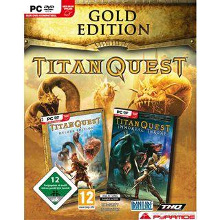 AK Tronic Software & Titan Quest Gold Ed 12 (PC)