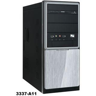Codegen 3337-A11 Mini Tower 420 Watt schwarz/silber