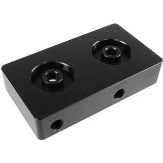 EK Water Blocks EK-D5 Dual TOP 2-LOOPS - Black Acetal