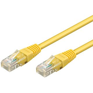 0.30m Good Connections Cat. 6 Patchkabel UTP RJ45 Stecker auf RJ45 Stecker Gelb