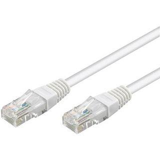 (€15,60*/1m) 0.25m Good Connections Cat. 6 Patchkabel flach UTP RJ45 Stecker auf RJ45 Stecker Weiß