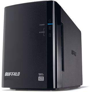 """2000GB Buffalo DriveStation Duo HD-WL2TU3R1-EU 3.5"""" (8.9cm) USB 3.0 schwarz"""