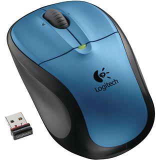 Logitech Maus Cordl.Opt. M305 Peacock Blue USB [bu] rt