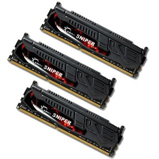 12GB G.Skill SNIPER LV DDR3-1600 DIMM CL9 Tri Kit