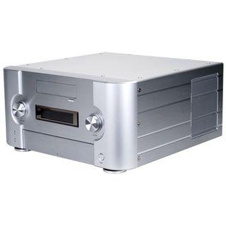 Silverstone CW02 Desktop ohne Netzteil Alu silber