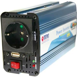 Titan Universal KFZ-Netzteil 12V auf 230V, HW-150V6,